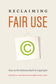 Cover of: Reclaiming fair use