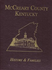 Cover of: McCreary County Kentucky  History and Families by