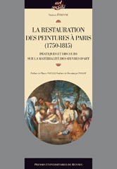 Cover of: La restauration des peintures à Paris (1750-1815) |