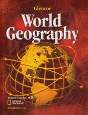 Cover of: Glencoe World Geography, Student Edition | McGraw-Hill
