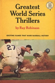 Cover of: Greatest World Series Thrillers |