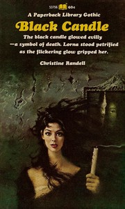 Cover of: Black candle | Christine Randell