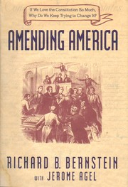 Cover of: Amending America | Richard B. Bernstein