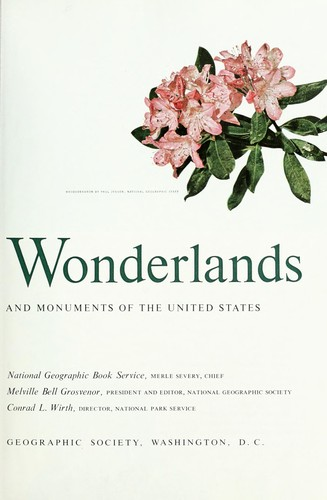 America's wonderlands by National Geographic Book Service.