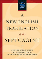 Cover of: A new English translation of the Septuagint