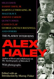 Cover of: Alex Haley: The Playboy Interviews