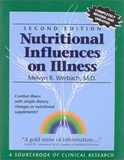 Cover of: Nutritional influences on illness