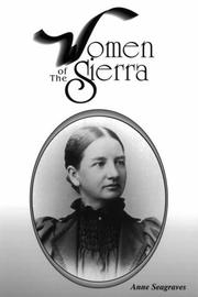 Women of the Sierra by Anne Seagraves