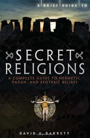 Cover of: A brief guide to secret religions