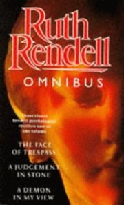 Cover of: Ruth Rendell Omnibus