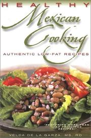 Cover of: Healthy Mexican cooking