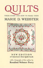 Quilts by Marie D. Webster