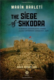 Cover of: The Siege of Shkodra
