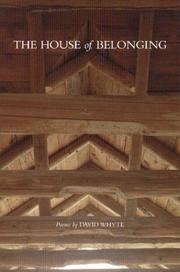 Cover of: The house of belonging
