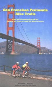 Cover of: San Francisco Peninsula bike trails | Conrad J. Boisvert
