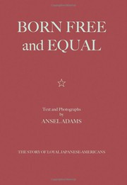 Cover of: Born Free and Equal
