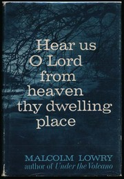 Cover of: Hear us O Lord from heaven thy dwelling place; and Lunar caustic