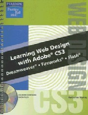Cover of: Learning Web Design with Adobe CS3