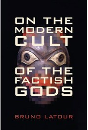 Cover of: On the modern cult of the factish gods