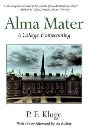 Cover of: Alma Mater | Paul Frederick Kluge