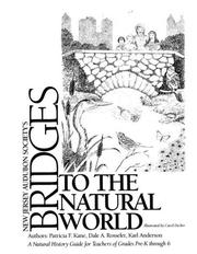 Cover of: Bridges to the natural world | Patricia F. Kane