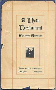 Cover of: A new testament