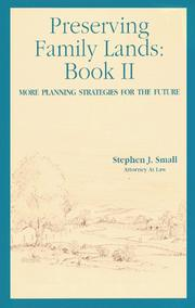 Cover of: Preserving Family Lands, Book II  | Stephen J. Small