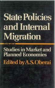 Cover of: Migration Related Policies | A.T.P.L. Abeykoon