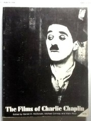 Cover of: Films of Charlie Chaplin | Gerald Mcdonald