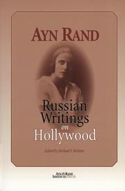 Cover of: Russian writings on Hollywood
