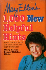 Mary Ellens 1,000 new helpful hints