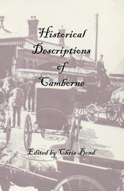 Cover of: Historical Descriptions of Camborne by