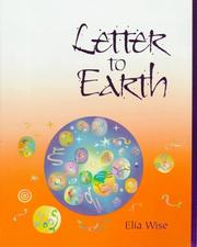 Cover of: Letter to earth