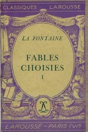 Cover of: Fables Choisies 1* | Jean de La Fontaine