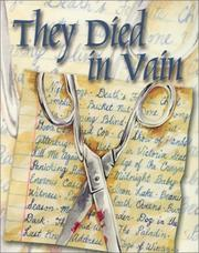 Cover of: They Died in Vain | Jim Huang