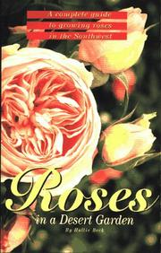 Cover of: Roses in a desert garden