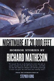 Cover of: Nightmare At 20,000 Feet