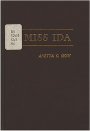 Cover of: Miss Ida | Anetta Cordula Mow