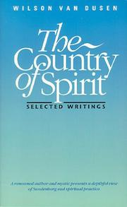 Cover of: The country of spirit