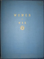 Cover of: Women at war | J. Herbert Hodgins
