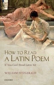 Cover of: How to Read a Latin Poem if You Can't Read Latin Yet