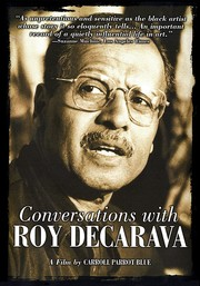 Cover of: Conversations with Roy DeCarava
