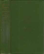 Cover of: A history of the Church of the Brethren in the middle district of Pennsylvania by Galen Brown Royer