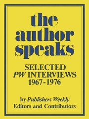 Cover of: The Author Speaks |