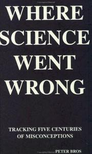 Cover of: Where science went wrong