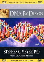 Cover of: DNA by Design [videorecording] | Stephen C. Meyer, PhD with Dr. Chuck Missler ; director, Paul Brand ; producer, Mark Bright