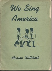 Cover of: We sing America |