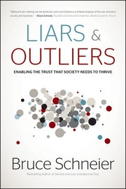 Cover of: Liars and outliers