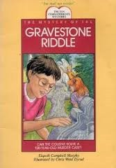 Cover of: The mystery of the gravestone riddle | Elspeth Campbell Murphy