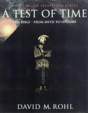 Cover of: A TEST OF TIME | David M. Rohl